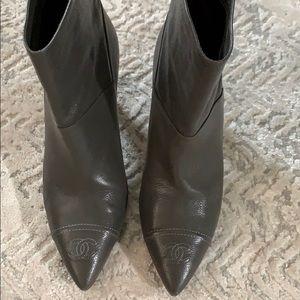 Beautiful Chanel booties!!!